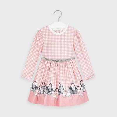 Rochie roz guler incretit fetita MAYORAL 4963 MYR09V