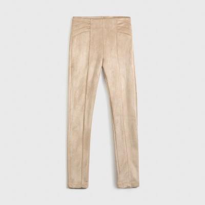 Pantaloni bej lungi fata MAYORAL 7535 MYPL128Y