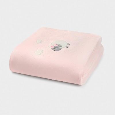Paturica roz matlasata cu blanita MAYORAL 9778 MYPAT02V