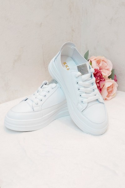 Adidas dama piele eco alb IT-ADIDAS02X
