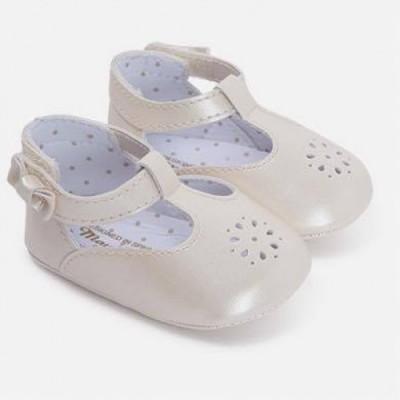Pantofi aurii fetite MAYORAL 9497 mypantf08g