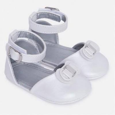 Pantofi albi fetite MAYORAL 9503 mypantf07g