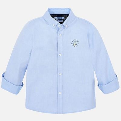 Camasa bleu cu maneca lunga baiat MAYORAL 4120 mycm21p