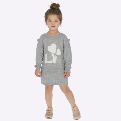 Rochie tricot gri fata MAYORAL 4935 MYR65P