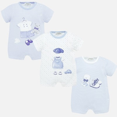 Set pijamale scurte cu desene bebe baiat nou-nascut 1770 MYSET21P