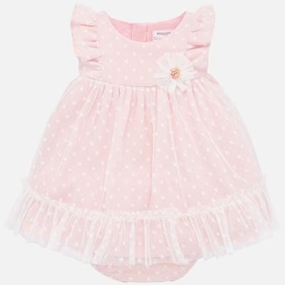 Rochie tul roz pudra fetite MAYORAL 1872 myr02p