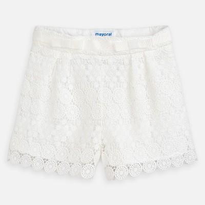 Pantaloni scurti albi Mayoral 03264 MYPS12P