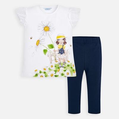 Set tricou print si leggings fetita MAYORAL 3720 myset31p