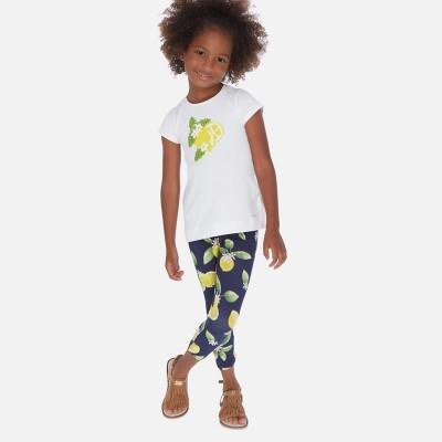 Set tricou si leggings cu lamai fetita MAYORAL 3725 myset32p