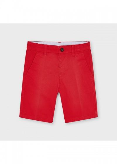 Pantaloni ROSII scurti chino baiat 202 MYPS33X