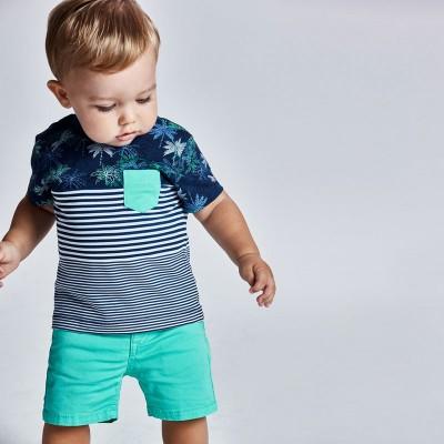Pantaloni scurti de bebe baiat 00206 MYPS04X