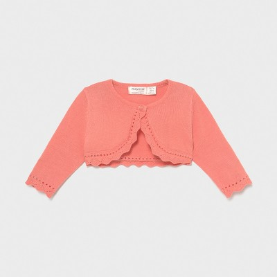 Bolero roz tricot basic Ecofriends new born fata 00318 MYBO01X