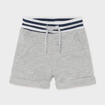 Pantaloni gri scurti plus nou-nascut baiat 1212 MYPS07X
