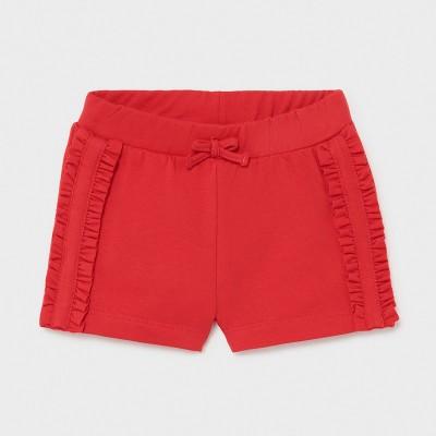 Pantaloni rosii scurti fetita MAYORAL 1227 MYPS12X