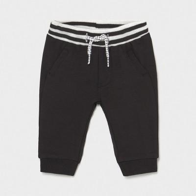 Pantaloni negri lungi nou-nascut baiat 1572 MYPL09X