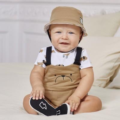 Costumas si caciula nou-nascut baiat 01636 MYCS19X