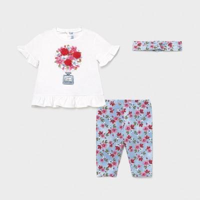 Set leggings efect denim bebe fetita 01713 MYCS04X