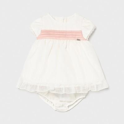 Rochie ivory bebe fetita Mayoral 1819 - MYR01X