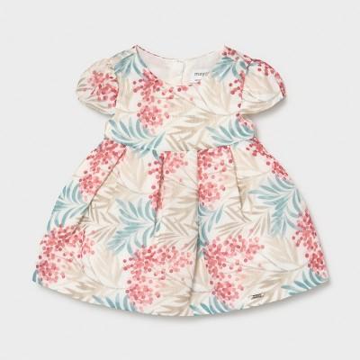 Rochie bleu-bej bebe fetita Mayoral 1828 - MYR03X