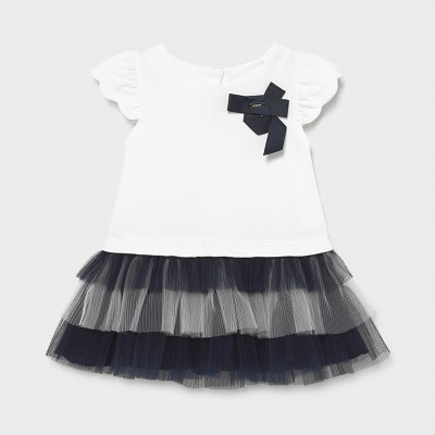 Rochie combinata si tul bebe fetita 01970 MYR22X