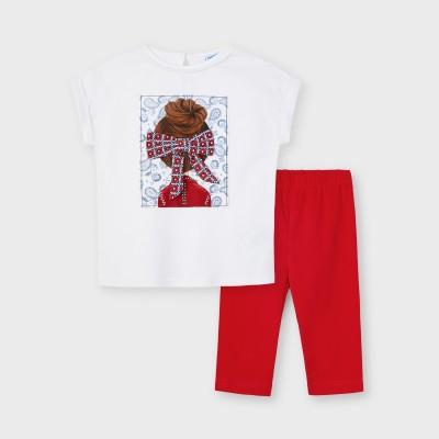 Set leggings papusa funda fetita 3735 MYCS11X