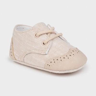 Pantofi crem nou-nascut baiat Mayoral 9391 - MYPANTF01X