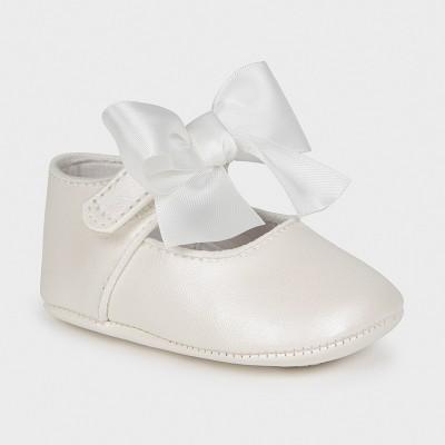 Pantofi ivory nou-nascut fetita Mayoral 9404 - MYPANTF04X