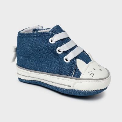 Pantofi denim sport pisicuta new born fata Mayoral 9410 - MYTEN03X