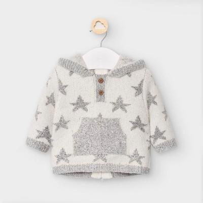 Hanorac gri tricot ciucure baiat MAYORAL 2342 MYBL49V