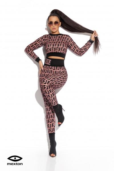 Costum fashion din doua piese marca Mexton - MEXCS8407X