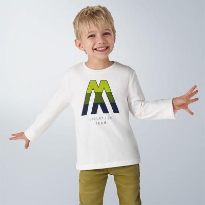 Bluza alba baiat MAYORAL 4040 MYBL120Y