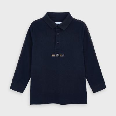 Bluza polo bleumarin baiat MAYORAL 4130 MYBL142Y