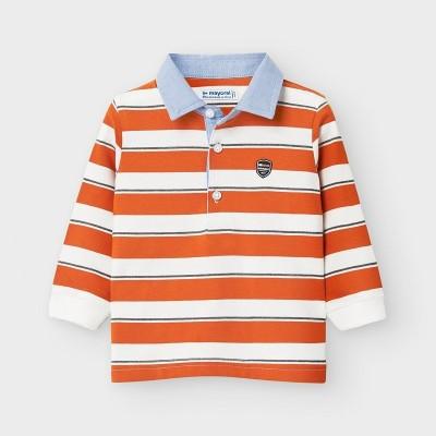 Bluza polo portocalie baiat MAYORAL 2123 MYBL119Y