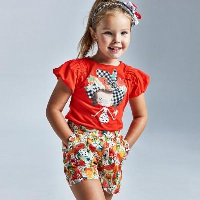 Fusta pantaloni imprimeu fetita MAYORAL 3908 MYPS31X