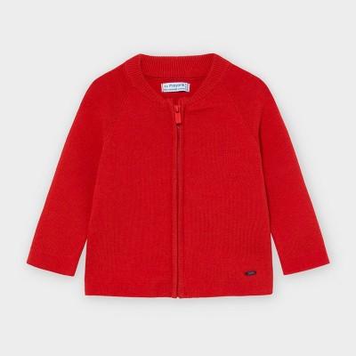 Jacheta rosie tricot baiat MAYORAL 361 MYBL160Y