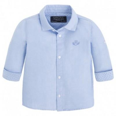 Camasa bleu eleganta baiat MAYORAL 117 mycm208a