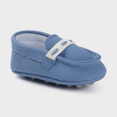 Mocasini bleu nou-nascut baiat MAYORAL 9394 MYPANTF06X