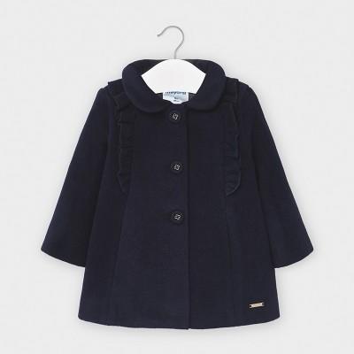 Palton bleumarin volanase bebe fetita MAYORAL 2406 MYG107Y