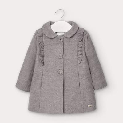 Palton gri volanase bebe fetita MAYORAL 2406 MYG107Y