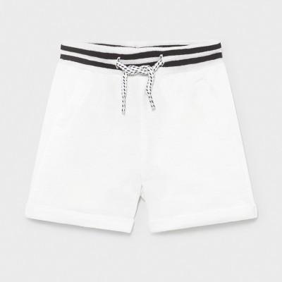Pantaloni albi scurti plus nou-nascut baiat 1212 MYPS07X