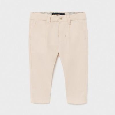 Pantaloni bej lungi in eleganti baiat MAYORAL 1581 MYPL13X