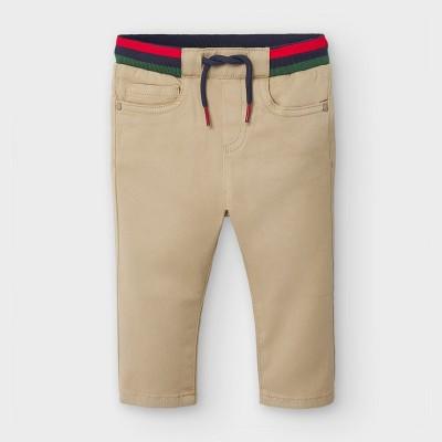 Pantaloni bej talie dungi baiat MAYORAL 2578 MYPL122Y