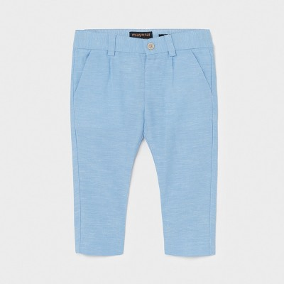 Pantaloni bleu lungi in eleganti  baiat MAYORAL 1581 MYPL13X