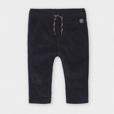 Pantaloni bleumarin microraiat baiat MAYORAL 2576 MYPL121Y