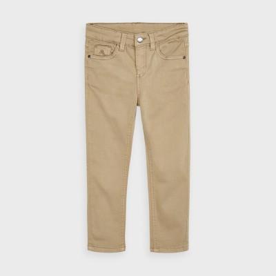 Pantaloni crem slim fit baiat MAYORAL 517 MYPL101Y