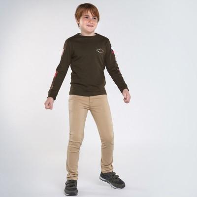 Pantaloni crem slim fit baiat MAYORAL 582 MYPL110Y