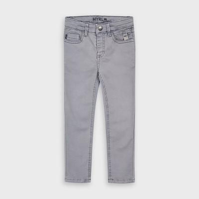 Pantaloni gri lungi skinny fit baiat MAYORAL 4528 MYPL106Y