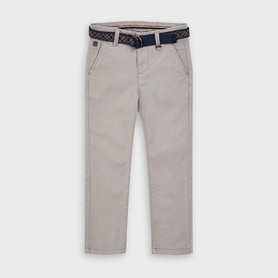 Pantaloni gri structura bellardina baiat MAYORAL 4535 MYPL113Y
