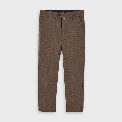 Pantaloni maro drepti baiat MAYORAL 4526 MYPL103Y