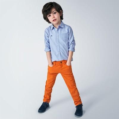 Pantaloni portocalii regular fit baiat MAYORAL 41 MYBG08V